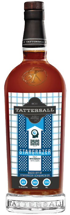 Tattersall Stargazer Malt Whiskey with Hops 375ml