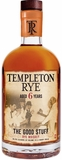 Templeton 6 Year Old Rye Whiskey 750ML