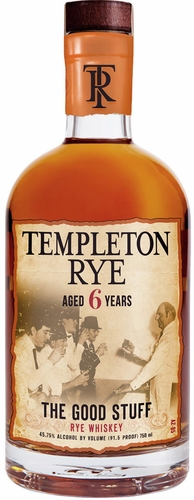 Templeton 6 Year Old Rye Whiskey