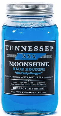 Tennessee XXX Blue Houdini Moonshine