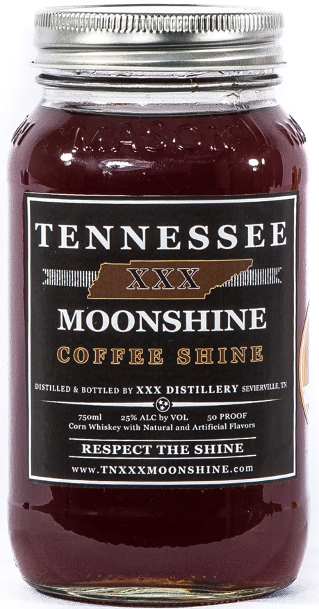 Tennessee XXX Coffee Shine Moonshine