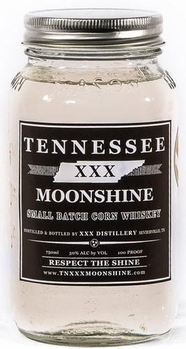 Tennessee XXX Small Batch Corn Whiskey
