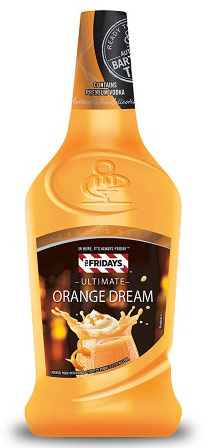 TGI Fridays Orange Dream Ready to Drink Cocktail 1.75L