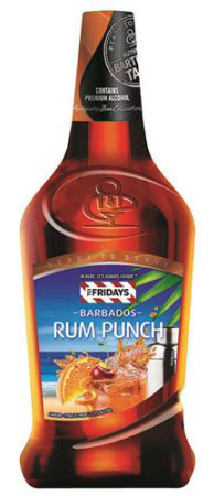 TGI Fridays Rum Punch Ready to Drink Cocktail 1.75L