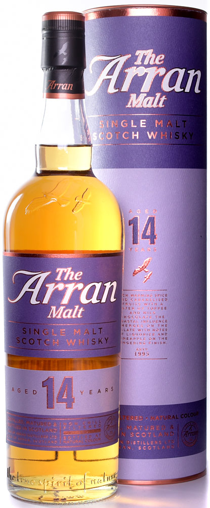 The Arran Malt 14 Year Old Single Malt Scotch 750ML