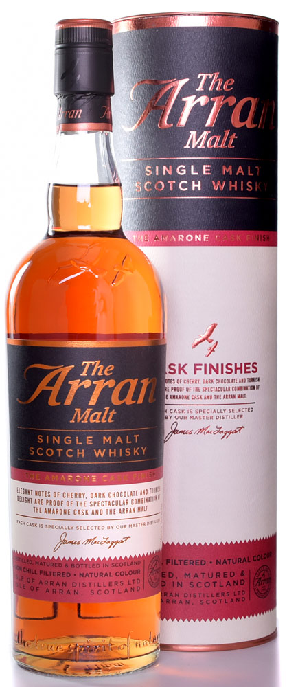 The Arran Malt Amarone Cask Single Malt Scotch 750ML