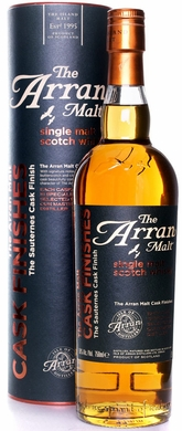 The Arran Malt Sauternes Cask Single Malt Scotch 750ML
