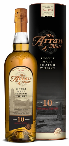 The Arran Malt Single Malt 10 Year Unchill Filtered Scotch