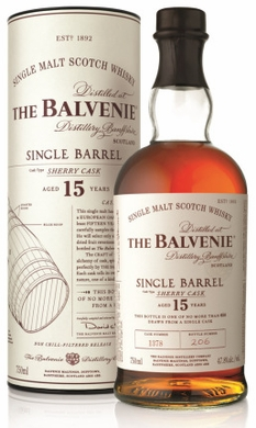 Balvenie 15 Year Old Single Barrel Sherry Cask Scotch