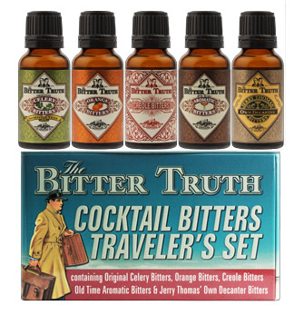 The Bitter Truth Travelers Set Bitters