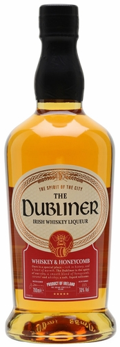 The Dubliner Honey Flavored Irish Whiskey Liqueur 750ML