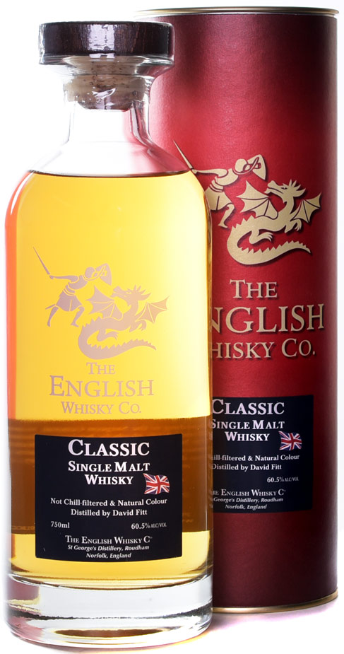 The English Whisky Co. Classic Unpeated Cask Strength English Whisky