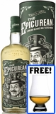 The Epicurean Lowland Blended Malt Scotch Whisky (with free Glencairn glass)