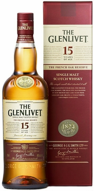 The Glenlivet 15 Year French Oak Finished Scotch