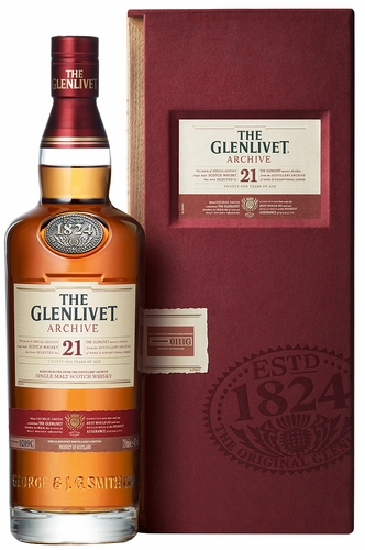 The Glenlivet 21 Year Old Archive Single Malt Scotch
