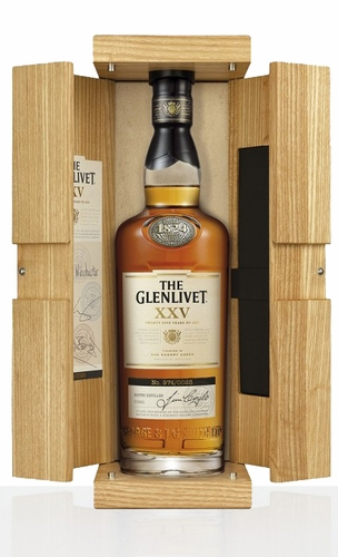 The Glenlivet XXV 25 Year Old Single Malt Scotch