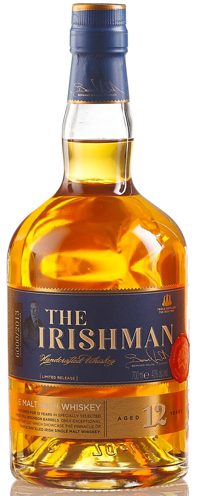 The Irishman 12 Year Old Single Malt Irish Whiskey