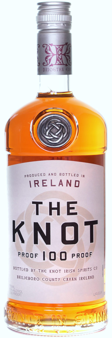 The Knot 100 Proof Irish Whisky 750ML