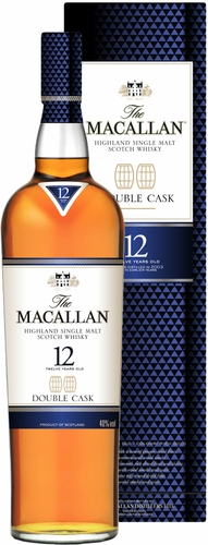 The Macallan 12 Year Old Double Cask Single Malt Scotch