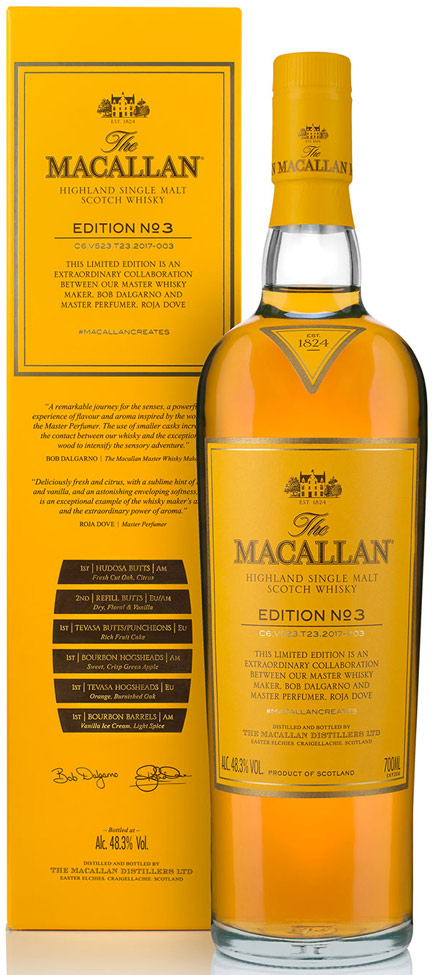 The Macallan Edition No.3 Single Malt Scotch 750ML