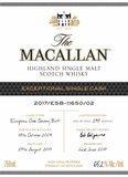 The Macallan Exclusive Cask 11650 Single Malt Scotch