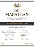 The Macallan Exclusive Cask 13561 Single Malt Scotch