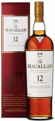 The Macallan Sherry Cask 12 Year Old 375ML Half Bottle