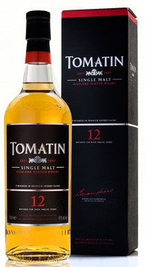 Tomatin 12 Year Old Single Malt Scotch