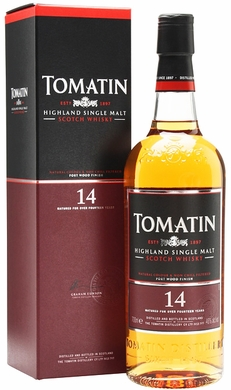 Tomatin Portwood Finished 14 Year Old Single Malt Scotch 750ML
