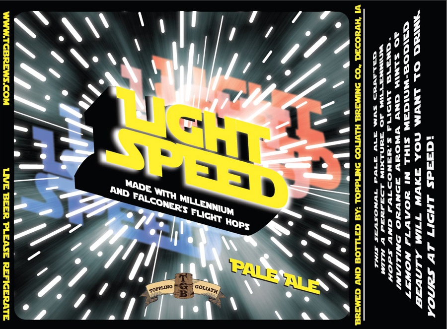 Toppling Goliath Light Speed Pale Ale