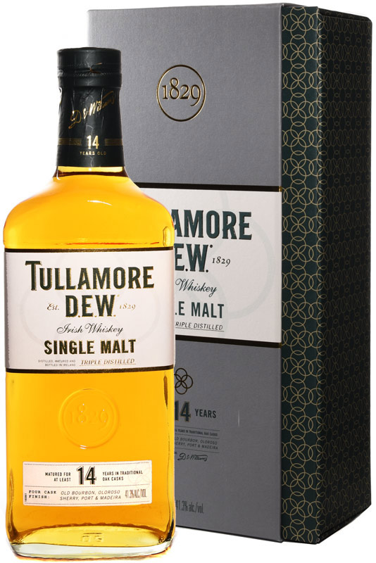 Tullamore Dew 14 Year Old Irish Whiskey 750ML