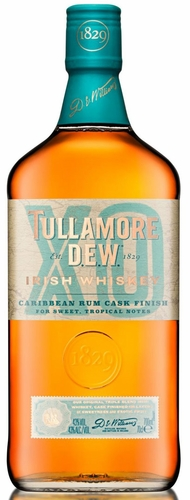 Tullamore Dew XO Caribbean Rum Cask Finish Irish Whiskey 750ML