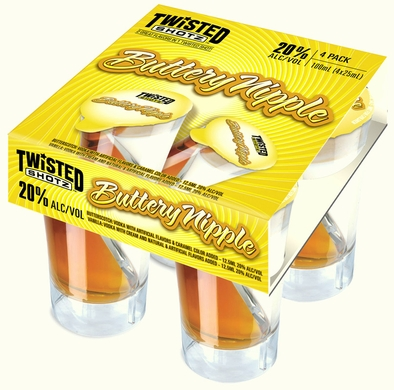 Twisted Shotz Buttery Nipple