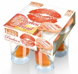 Twisted Shotz Peaches n Cream (4) 25ML Shots