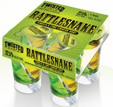 Twisted Shotz Rattlesnake (4) 25ML Shots