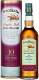 Tyrconnell 10 Year Old Port Cask Finish Single Malt Irish Whiskey