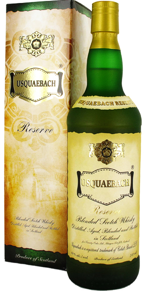 Usquaebach Reserve Blended Scotch 750ML
