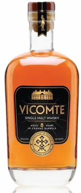 Vicomte Single Malt French Whisky 750ML