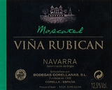 Vina Rubican Moscatel Navarra 375ML (case of 12)