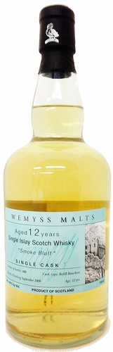 Wemyss Malts Smoke Bluff 12 Year Old Single Malt Scotch