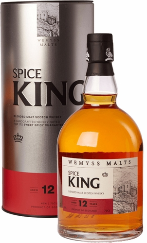 Wemyss Malts Spice King 12 Year Old Blended Malt Whisky 750ML