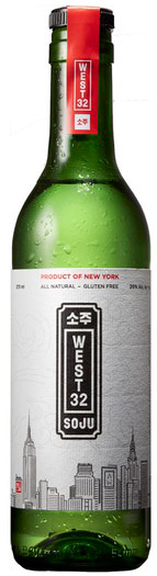 West 32 Soju 375ml