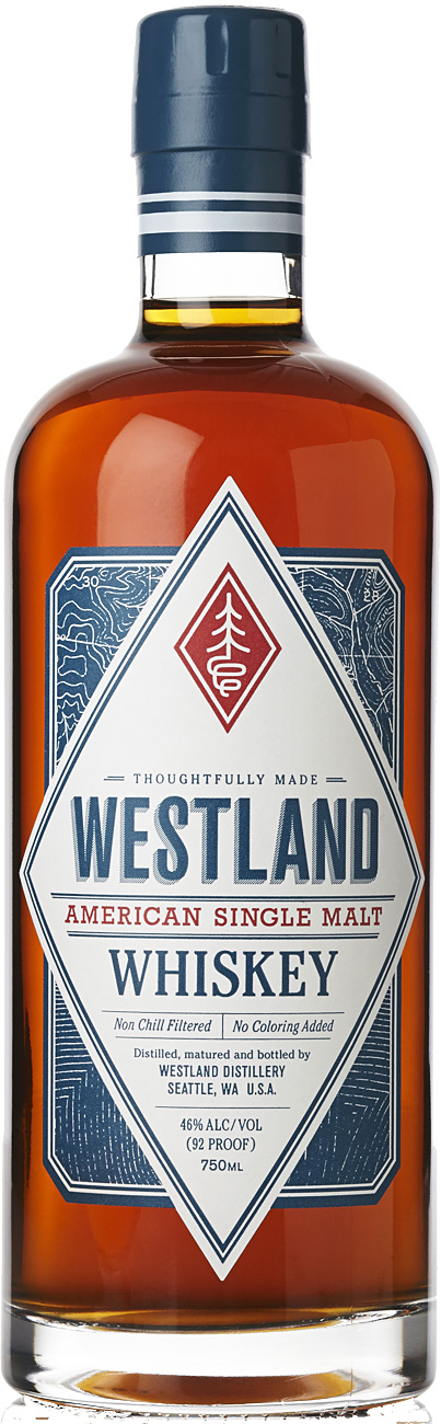 Westland Single Malt Whiskey 750ML