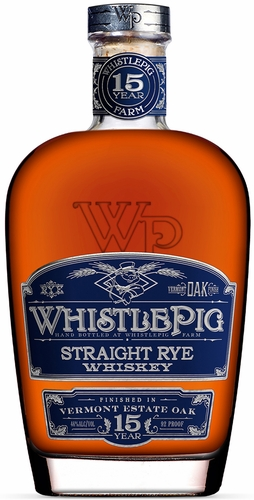 Whistle Pig 15 Year Old Rye Whiskey 750ML