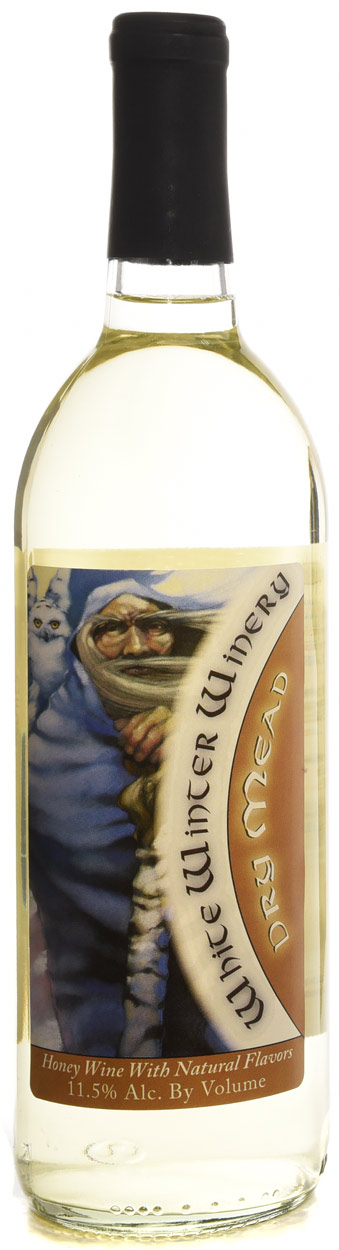 White Winter Winery Dry Mead 750ML