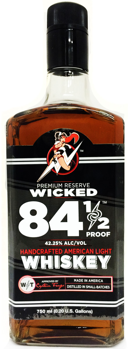 Wicked 84 1/2 Proof Light American Whiskey