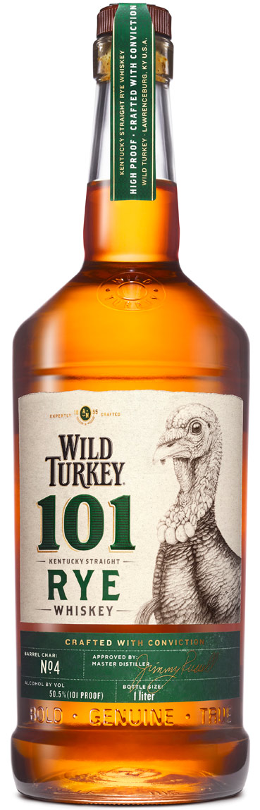 Wild Turkey 101 Proof Rye Whiskey 1L