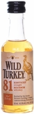 Wild Turkey 81 Proof Bourbon 50ML