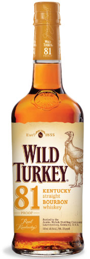 Wild Turkey 81 Proof Bourbon Whiskey