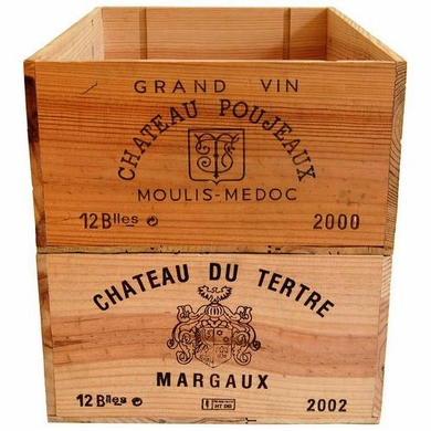 Wood wine crates from various wineries buy wine boxes for Where to buy used wine crates